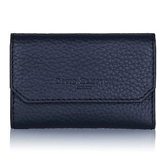 Midnight Richmond Leather Key Wallet
