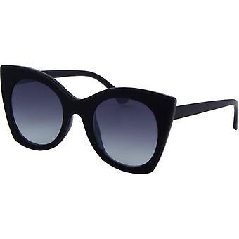 Sonnenbrille Damen  Chic  Kat. 3 matt schwarz (6500)