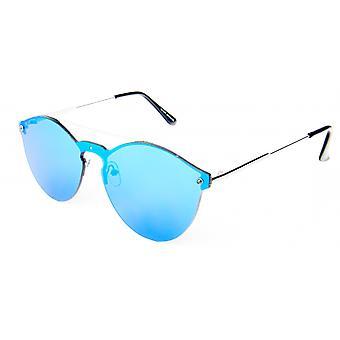 Sonnenbrille Unisex  Silber/Eisblau   18-047