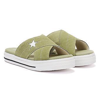 Converse One Star Naisten Oliivi sandaalit