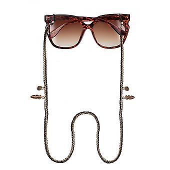 نظارات حزام Unisex 75 سم الذهب / البني (CWI1705)