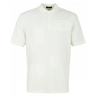 Fred Perry Laurel Contrast Stitch Patch Pique Polo