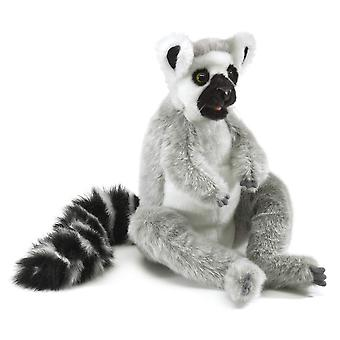 Hand Puppet - Folkmanis - Lemur Ring-Tailed New Soft Doll Plush 3159