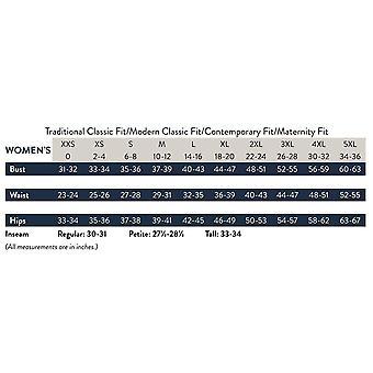 Cherokee WW Professionals WW170 Mid Rise Straight Leg Pull-On Pant Black M Pe...
