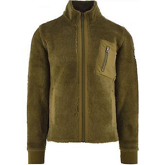 Belstaff Khaki Herne Fleece Full Zip Sweatshirt