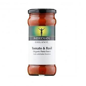 Meridian - Org Tomato & Basil Pasta Sauce 350g