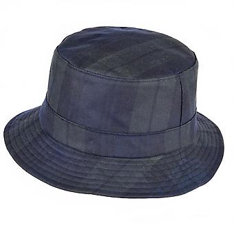 ZH213 (BLACKWATCH S 56cm ) Lachlan Tartan Wax Bush Hat