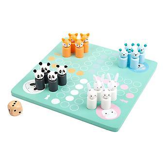 Legler Small Foot Children's Ludo Pastel Colours Board Game Unisex Multi-colour