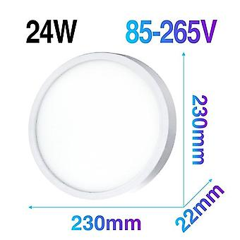 Ultra Thin Led Ceiling Lamp Round Surface Mounted Panel Light Modern Downlight For Home Lighting