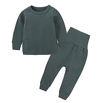 New Autumn And Winter's Home Service Plus Cashmere Cotton Baby Belly Suit