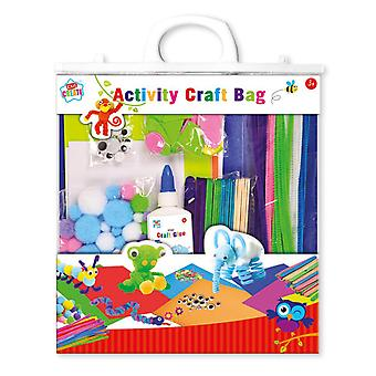 Kids Create Bumper Childrens Activity Craft Bag Re-Sealable Arts Crafts Ages 3+