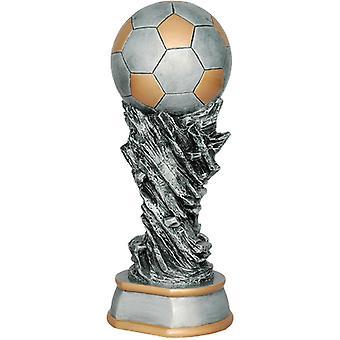 Gegoten beeldje - Voetbal 65582