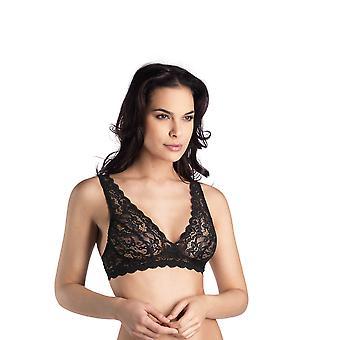 Hanro women's lingerie Moments Bralette black 071465