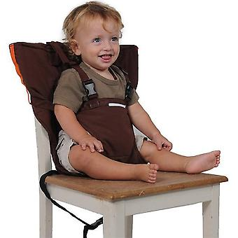 Baby Portable Chair Seat Travel Foldable Washable High Dining Cover Seat Safety Belt