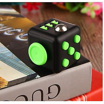 3.3cm Cube With Button Anti Irritability Stress Relief For Adults And Vinyl
