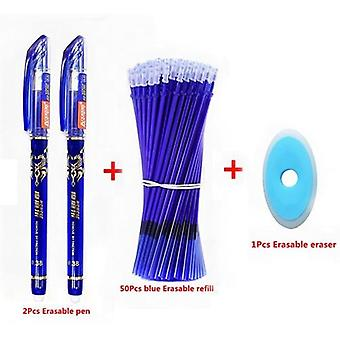 Erasable Washable Pen, Refill Rod For Handle Blue/black Ink, School, Office