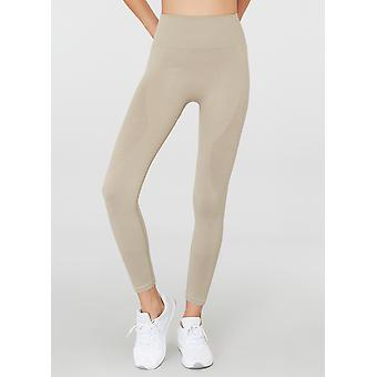 Jerf Womens Gela Bege Perfeitamente Active leggings