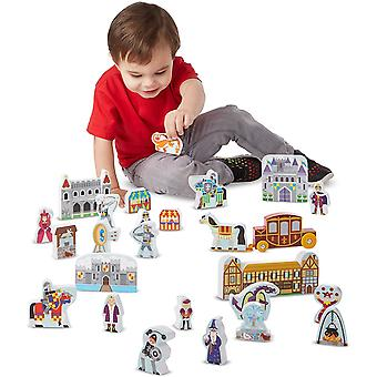 Melissa And Doug Wooden Castle Play Set