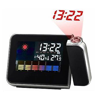 Achtung Projektion Digital Table Uhr WetterAnzeige Lcd Snooze