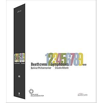 Symphonies 1-9 [DVD] USA import