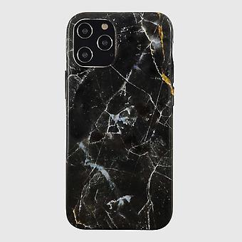 Eco Friendly Printed Marble Black iPhone 12 Pro Max Case