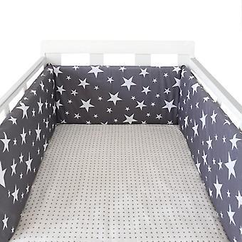 U-shaped Detachable Zipper Cotton Bed Bumpers