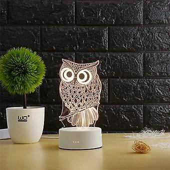 Lampe créative de table d'illusion 3d pour la maison décorative
