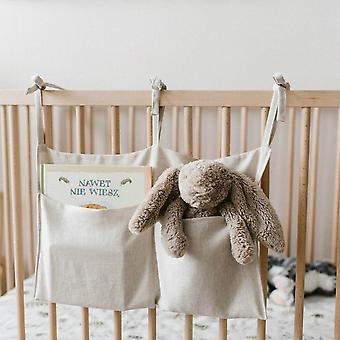 حديثي الولادة سرير تخزين منظم سرير شنقا أساسيات