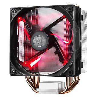 Cooler master hyper 212 led cooling system - durable and versatile - 4 continuous direct contact hea