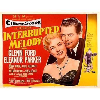 Interrupted Melody Eleanor Parker Glenn Ford 1955 Movie Poster Masterprint