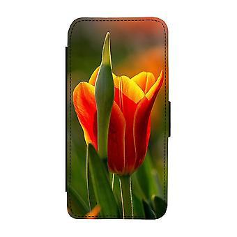 Custodia portafoglio Flower Tulip iPhone 12 / iPhone 12 Pro