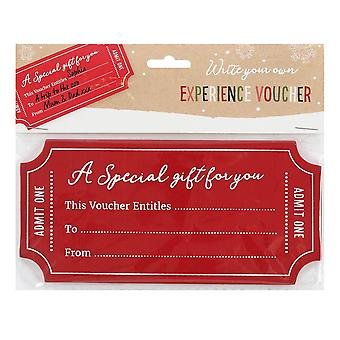 Something Different Write Your Own Voucher Christmas Gift Tag