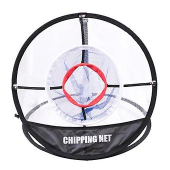 Foldable Golf Practice Net, Three-layer Cutting Net, Target Net For Indoor And Outdoor Training, Accuracy And Swing Practice