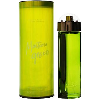 Montana Green Eau de Toilette Spray for Men 50 ml