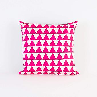 Hot Pink Mountains Of Montana Triangle Screen
