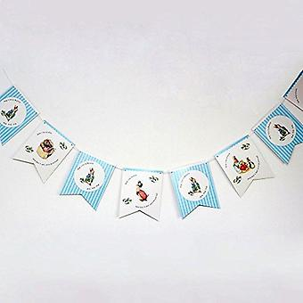 Pierre Lapin Bunting Garland Hop Little Bunny 3M Party Decoration