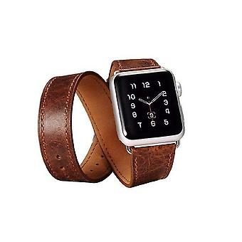 Business Real Leather Apple Watch Strap