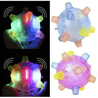 Jumping Led Playing Ball For Pets Dogs Toys Joggle Colour