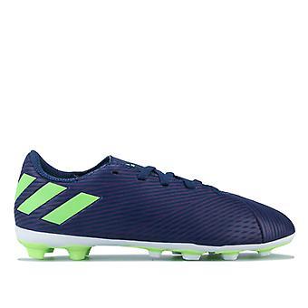 Boy's adidas Children Nemeziz Messi 19.4 FG Football Boots in Purple