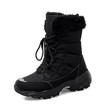 Women's Ankle High Snow Boots 2110 Noir