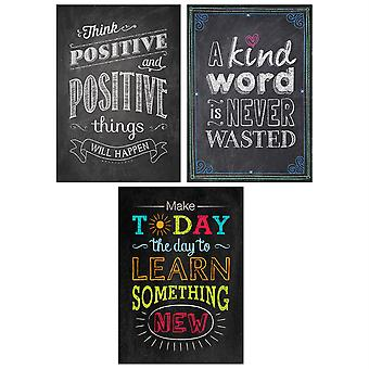 Be Your Best Poster Pack (Chalk It Up!)