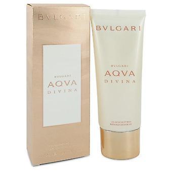Gel de ducha Bvlgari Aqua Divina por Bvlgari 3.4 oz Gel de Ducha