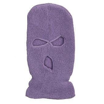 Full Face Cover Mask, Three Hole, Balaclava Knit Hat, Army Tactical Cs Winter