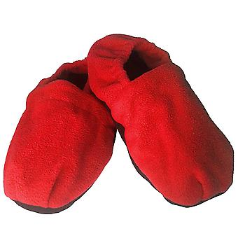 Heating slippers - Red