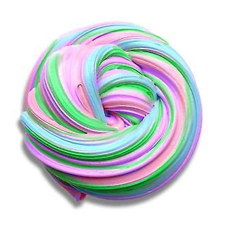 Пушистый Slime- 7 Ounce Разноцветные stretchy Мягкий ароматизированный нелипкий стресс помощи Нет Бура сенсорной игры - Для детей и взрослых