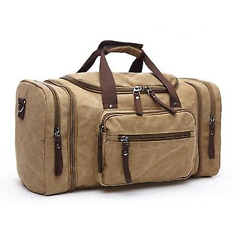 Large Capacity Men Hand Luggage Travel Duffle, Canvas Bags
