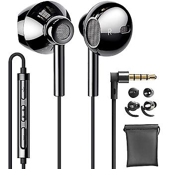 Upgraded 2nd Generation QUAD Dynamic Driver Hi-Res Extra Bass Earbuds
