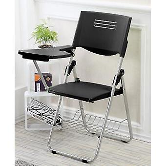 Folding Conference Staff Training Chair Meeting Chair With Writing Board
