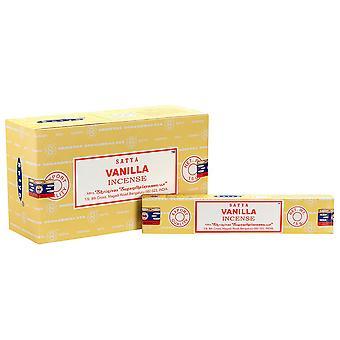 Satya Vanilla Incense Sticks (Pack of 120)