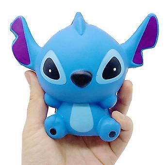 Jumbo Kawaii Stitch Squishy Stress Relief Soft Squeeze Doll (13x11cm)